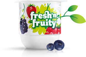 Berries Galore regular Fresh 'n Fruity yoghurt single image 293x195